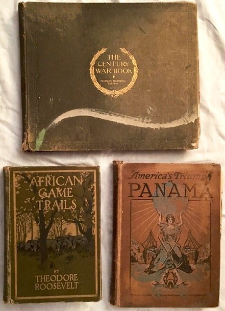 Antiquarian Books: Roosevelt, Panama & Civil War