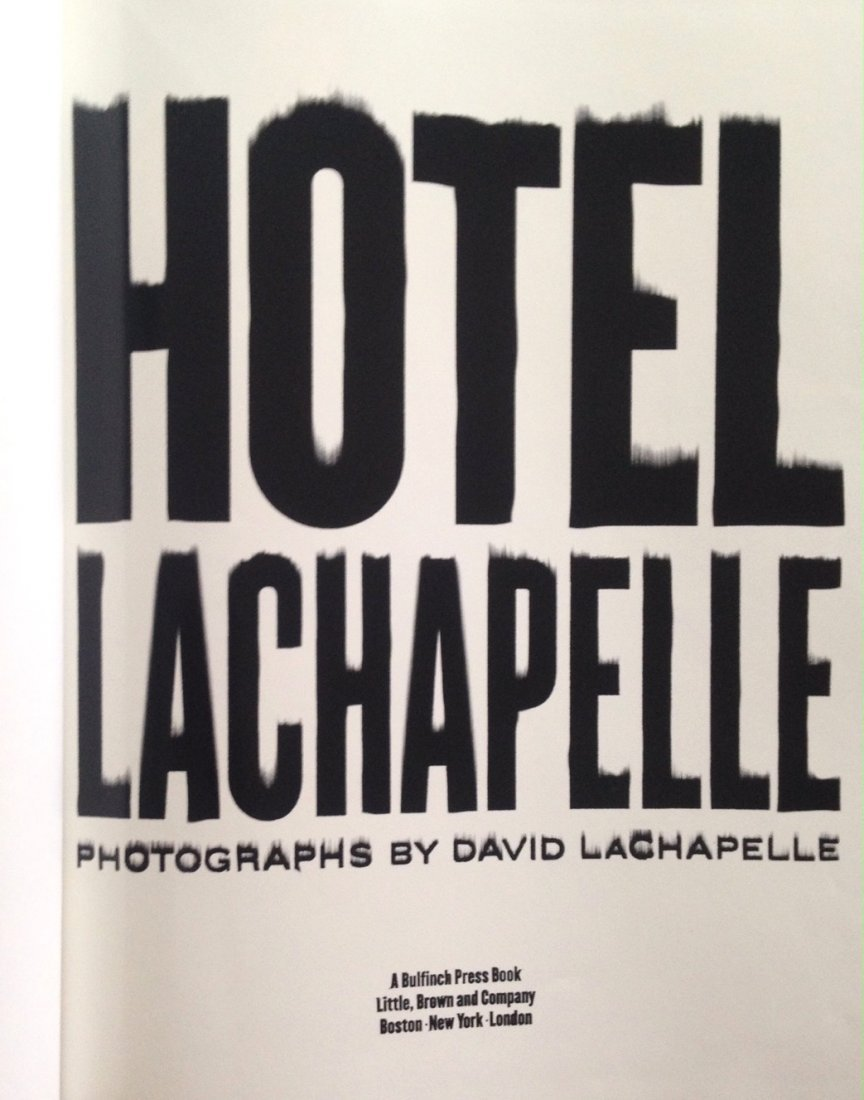 David LaChapelle Photography Book - 2
