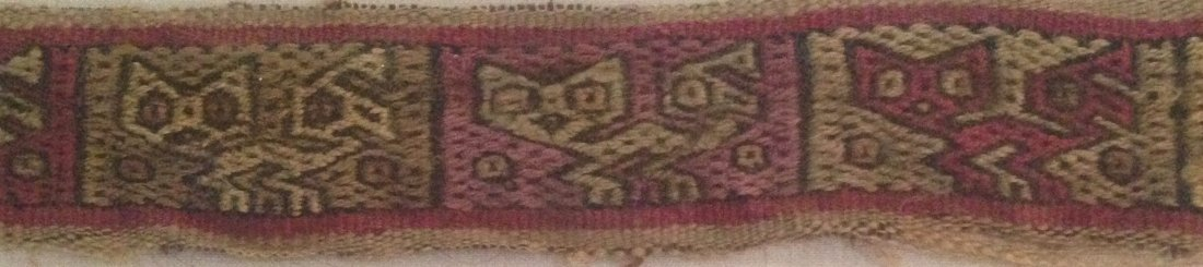 Pre-Columbian Peru Textile Panel - 3