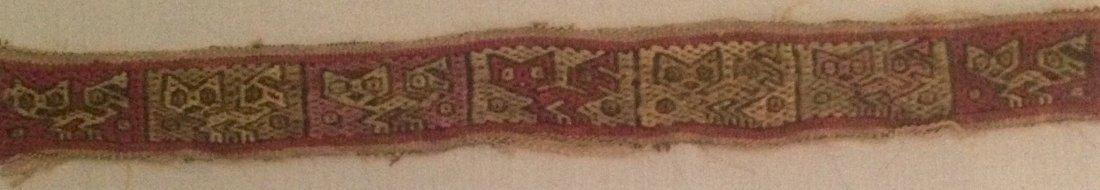 Pre-Columbian Peru Textile Panel - 4