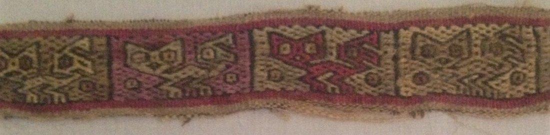 Pre-Columbian Peru Textile Panel - 5
