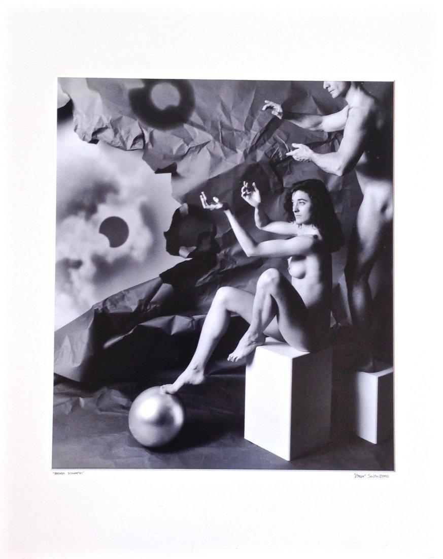 Vincent Serbin Silver Gelatin Print, Broken Symmetry