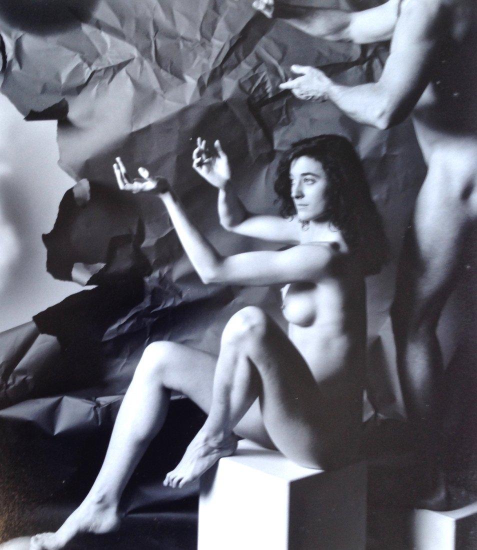Vincent Serbin Silver Gelatin Print, Broken Symmetry - 2