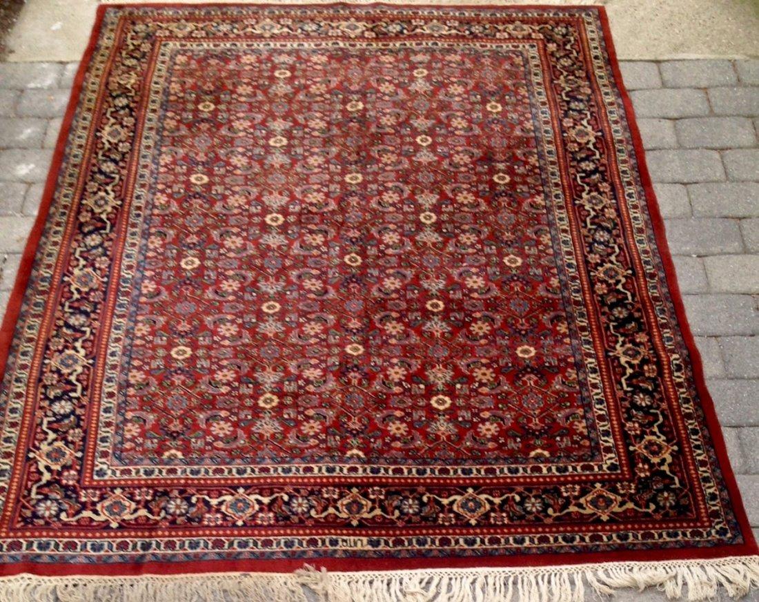 "Semi-Antique Persian Rug, Signed 5'9"" x 7'"