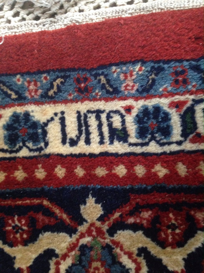 "Semi-Antique Persian Rug, Signed 5'9"" x 7' - 3"