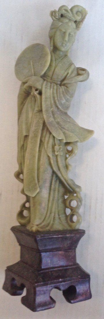 Chinese Carved Sculpture of Guan-yin