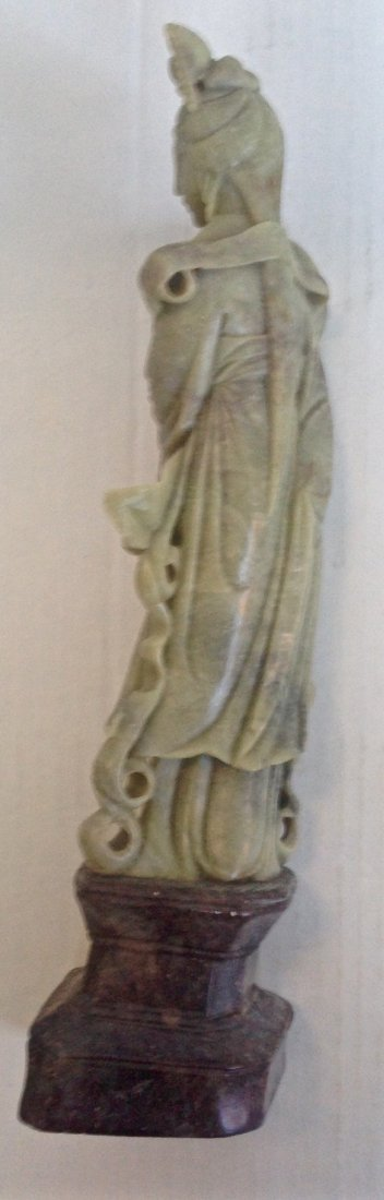 Chinese Carved Sculpture of Guan-yin - 2