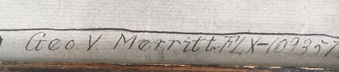 """Geo. Merritt Graphite Drawing """"Young Man"""" - 3"""