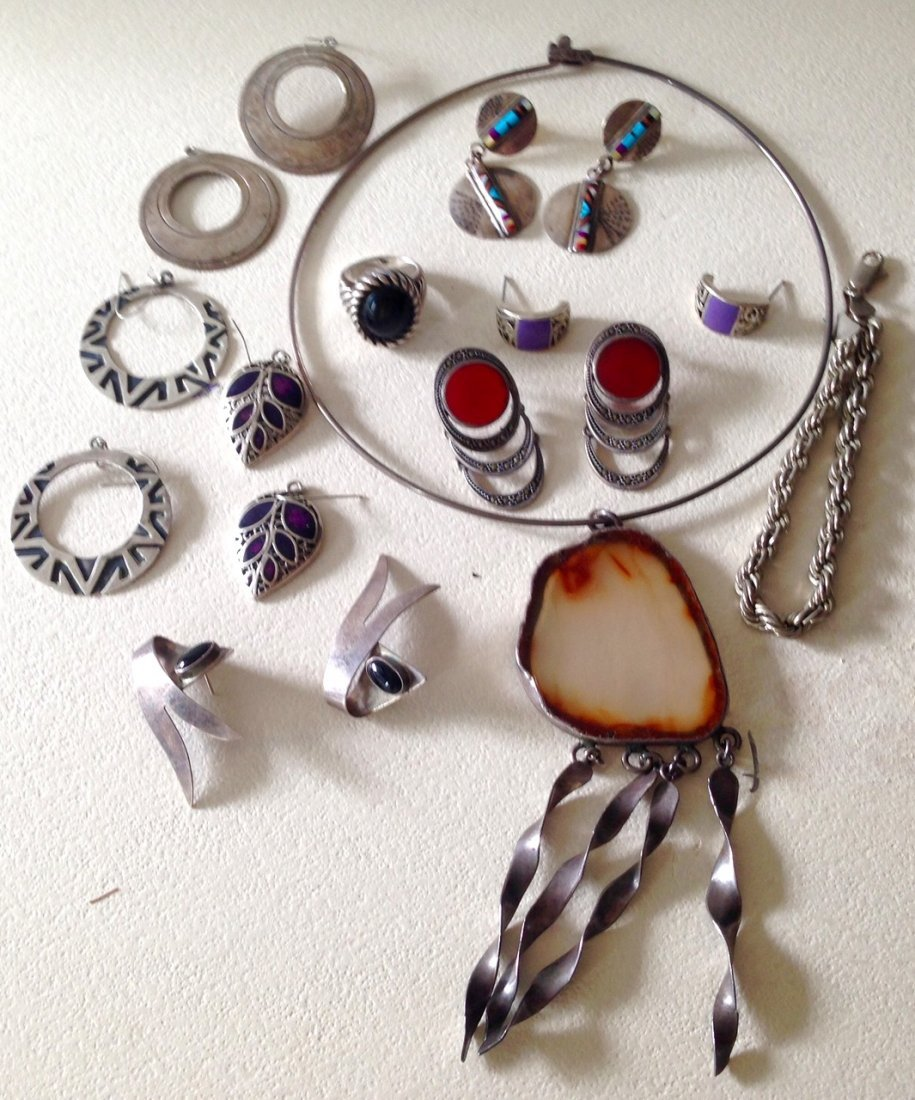 Estate Sterling Silver Jewelry