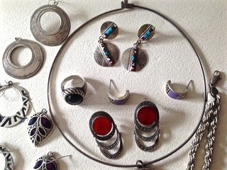 Estate Sterling Silver Jewelry - 2