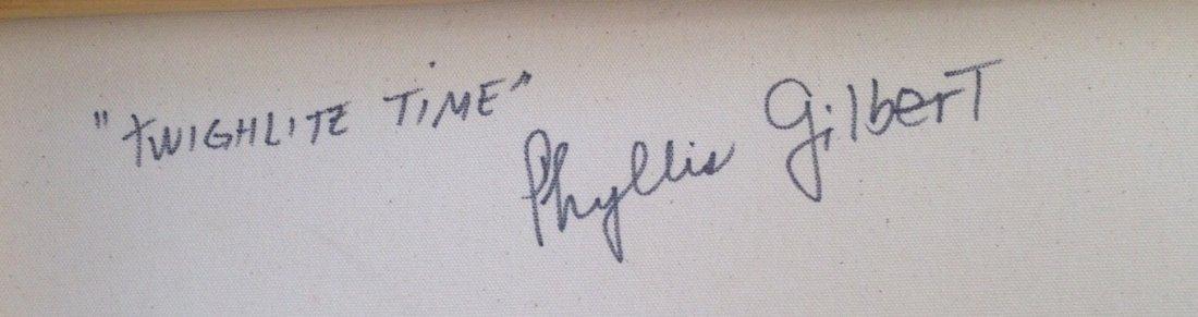 "Woodstock Painting, Phyllis Gilbert ""Twilight Time"" - 3"