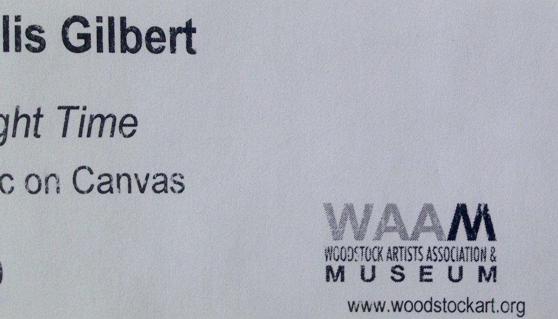 "Woodstock Painting, Phyllis Gilbert ""Twilight Time"" - 4"