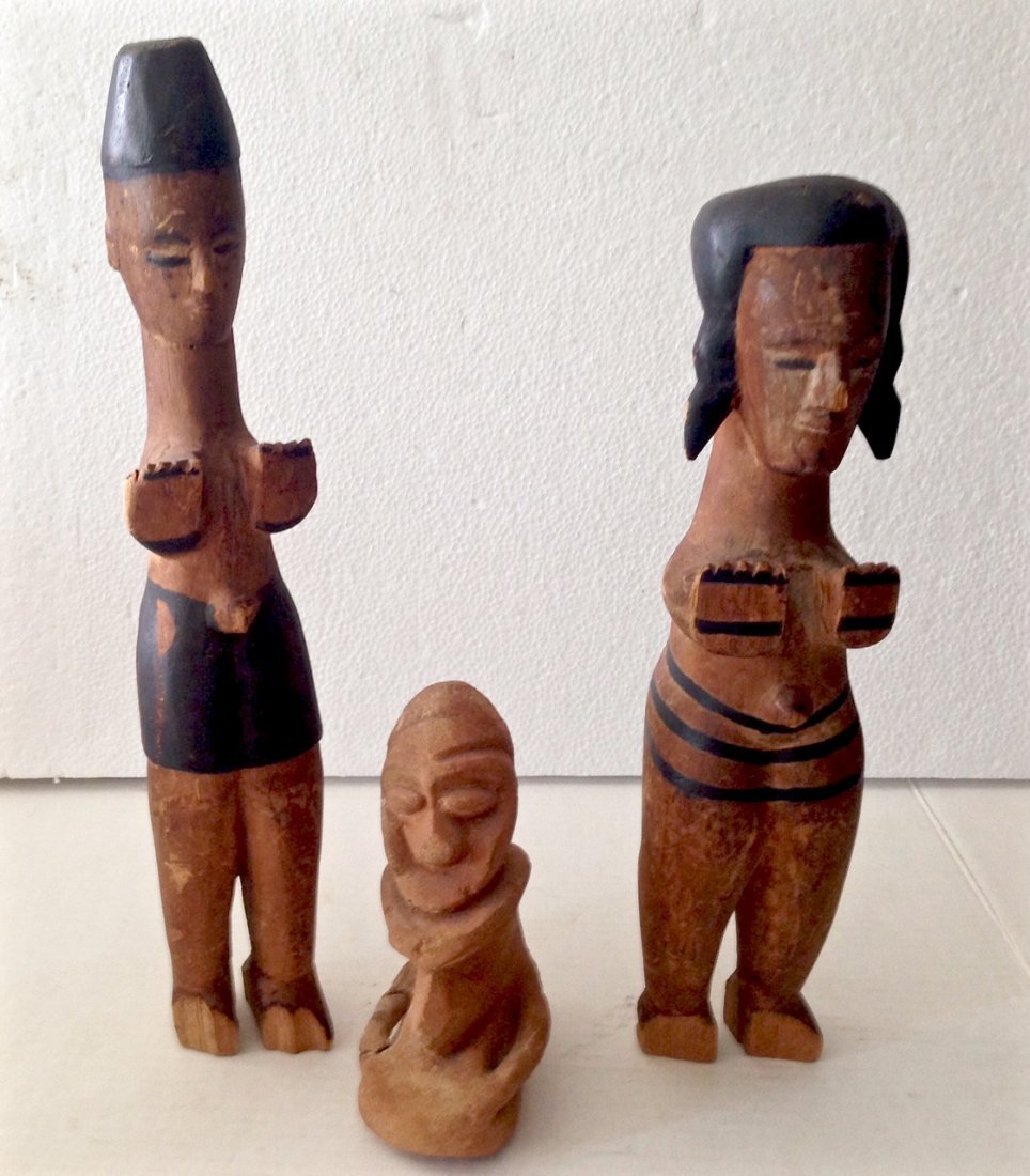 Collection of Wood Carvings, 1940's - 2