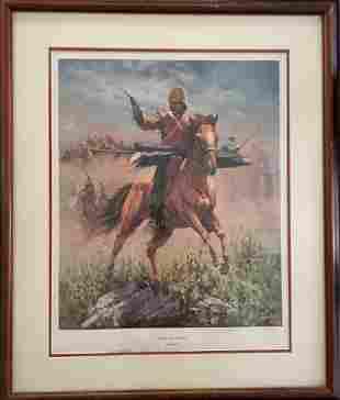"Bud Bradshaw ""Melville Ride To Glory"""