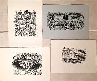 """Jose Guadalupe Posada, """"Day of the Dead"""""""