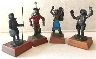 Tom Knapp (America, b.1925) Bronze Sculptures