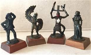 Tom Knapp (American b. 1925) Bronze