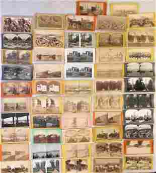 Stereoview Cards: American Landmarks,Landscapes & Towns