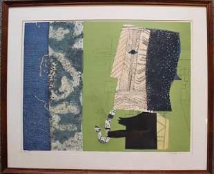 "Max Papart, Cubist Pop Art ""Sax Man"""