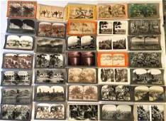 Stereoview Cards: California, Hawaii, New Mexico, Etc