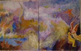 Woodstock School Painting, Phyllis Gilbert