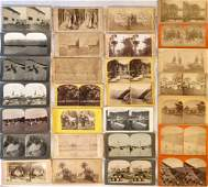 Stereoview Cards  Animals  Nature