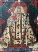 Cuzco School Spanish Colonial Painting