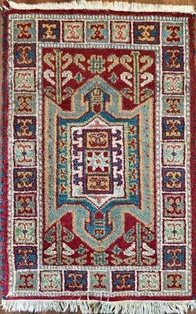 Semi-Antique Persian Prayer Rug