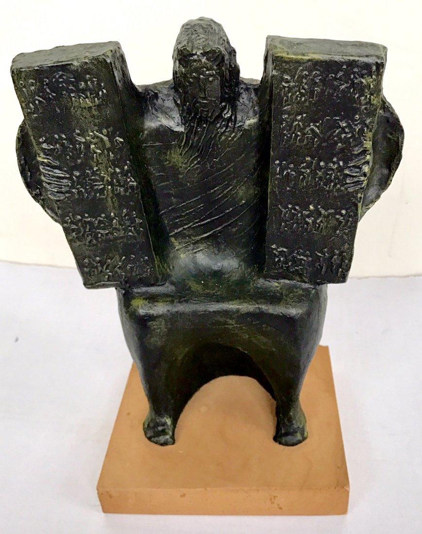 G. Macri Sculpture, Moses and the Ten Commandments