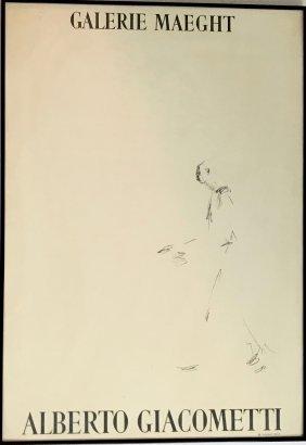 Alberto Giacometti, Standing Figure, Galerie Maeght