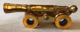 Antique Theater Binocular Opera Glasses With Handle