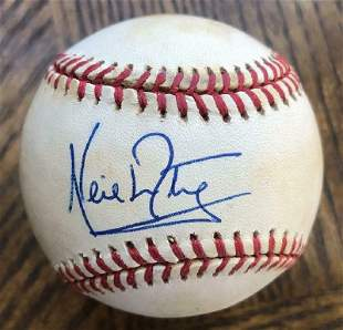 Neil Armstrong- Signed Baseball