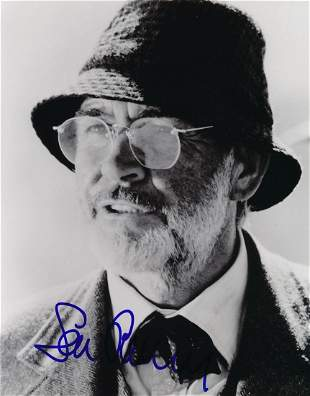 Sean Connery Signed Photograph