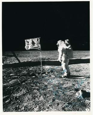 Apollo 11- Crew Signed Vintage Photograph