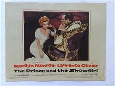 1959 Marilyn Monroe PRINCE and the SHOWGIRL Lobby Card