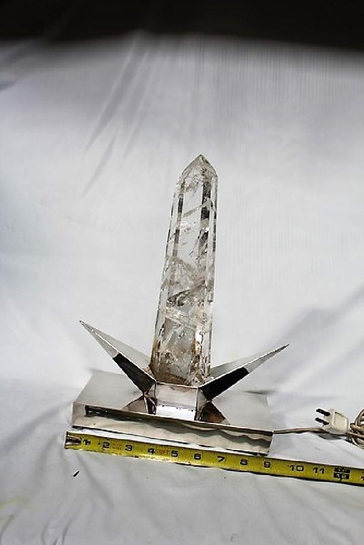 Rock Crystal Point Lamp - 3
