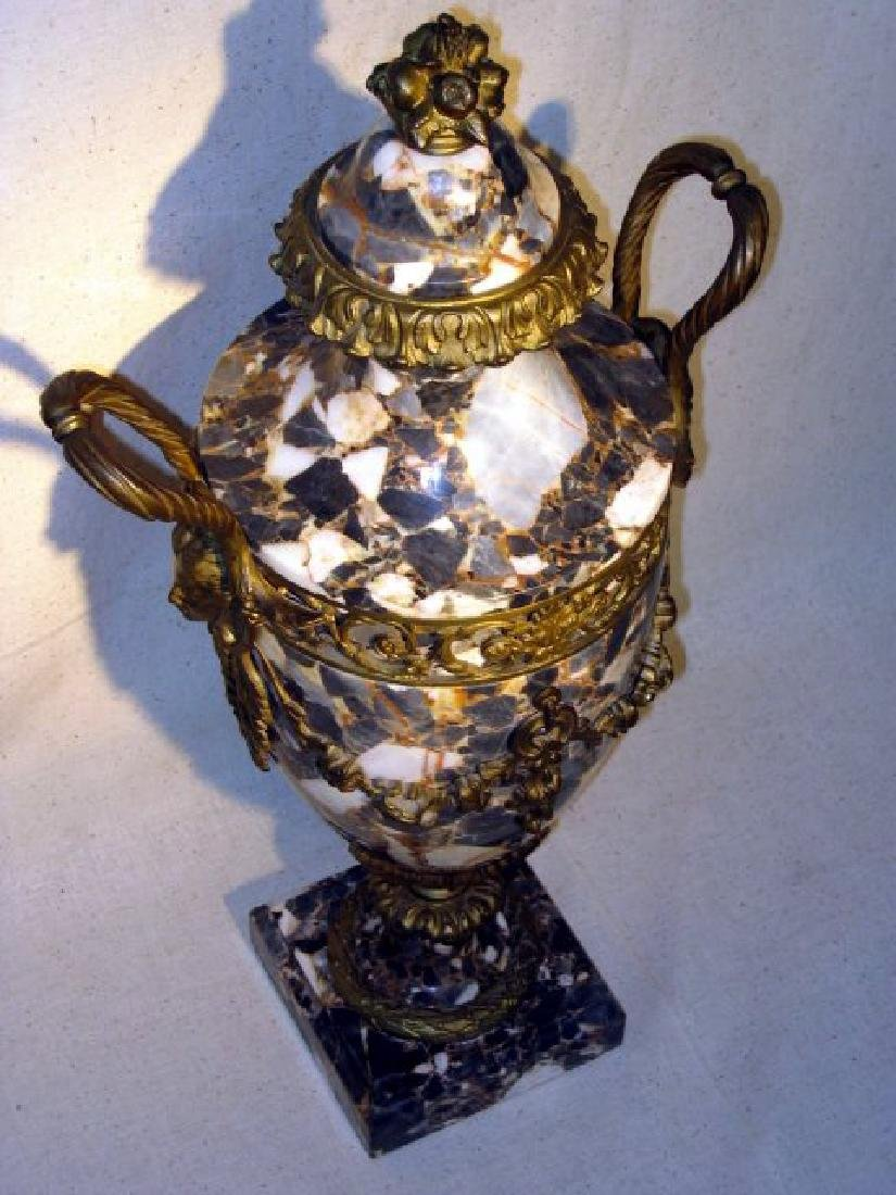 Antique French Marble Urn - 2