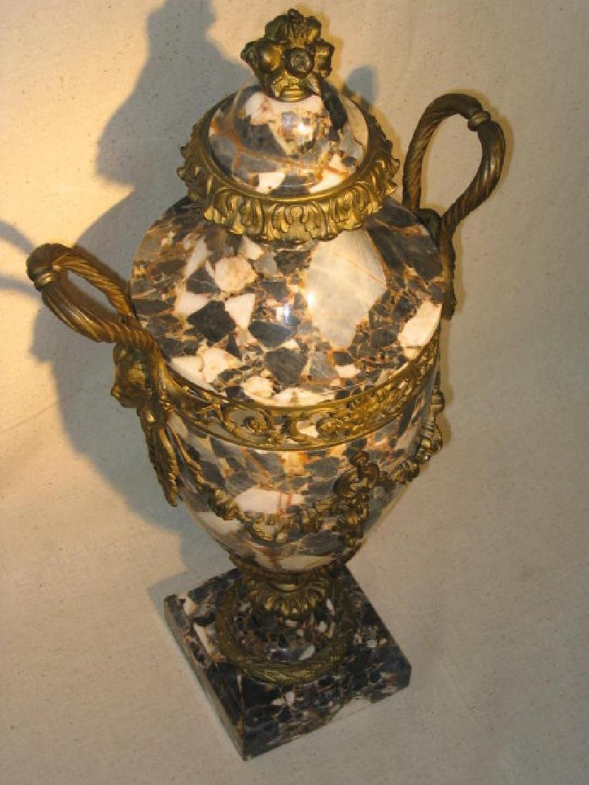 Antique French Marble Urn - 3