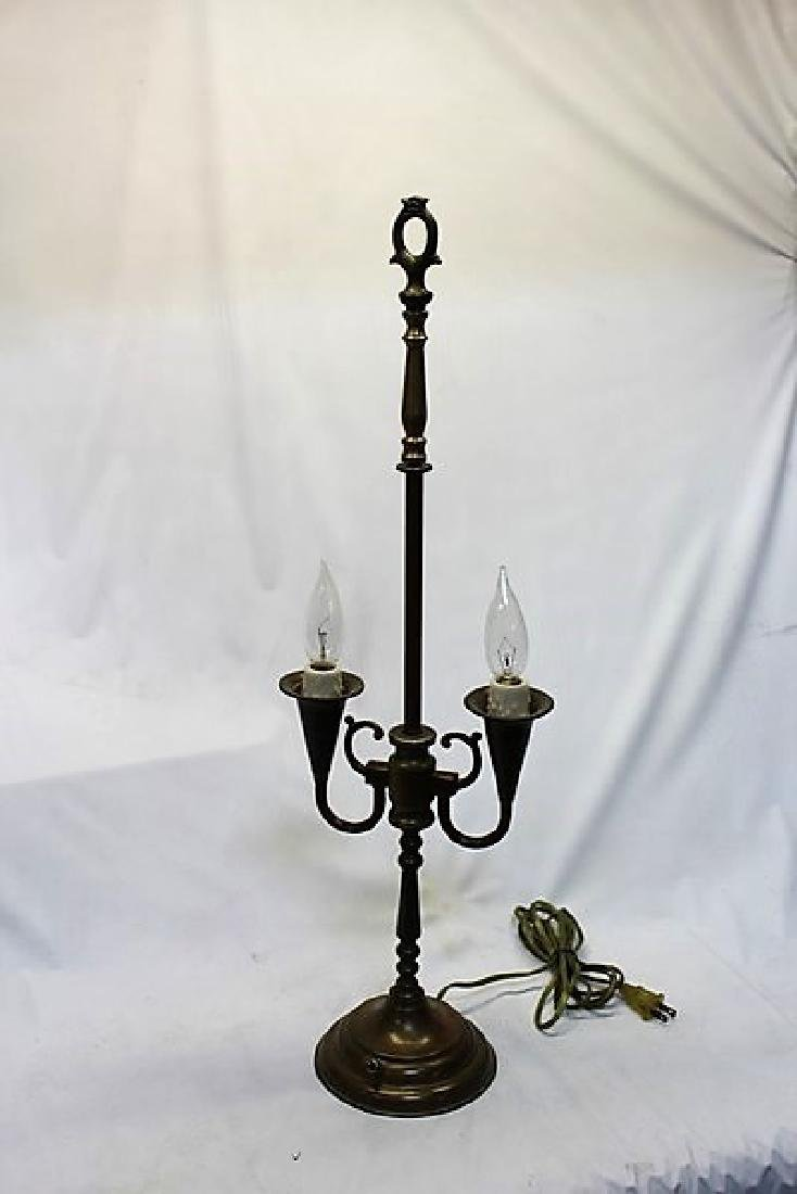 Antique Original Lamp Base - 2