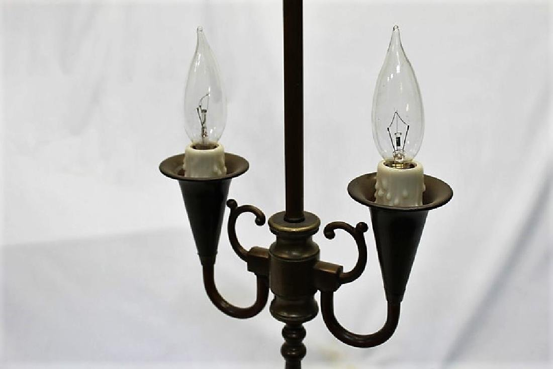 Antique Original Lamp Base - 3
