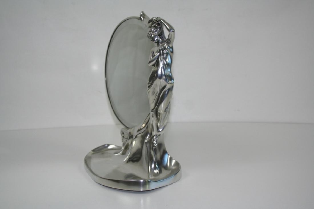 Art Nouveau Lady Mirror - 2