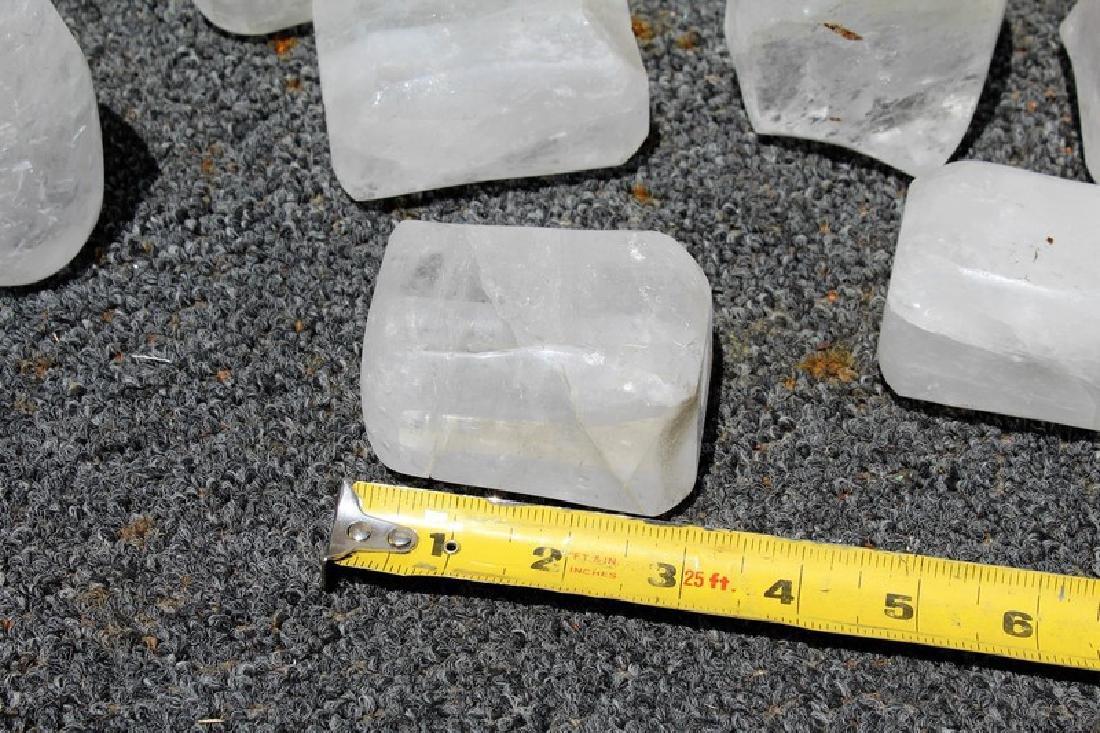Rock Crystal Spacers (15) - 2