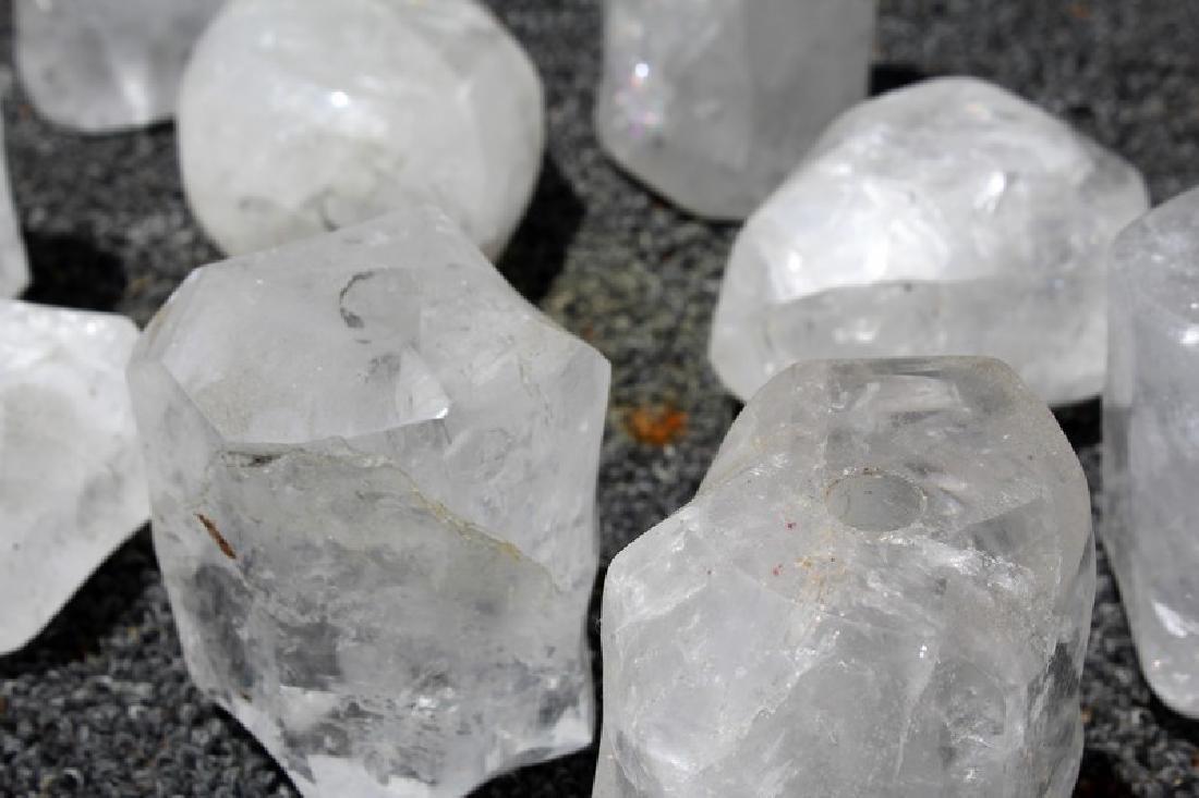 Rock Crystal Spacers (15) - 3
