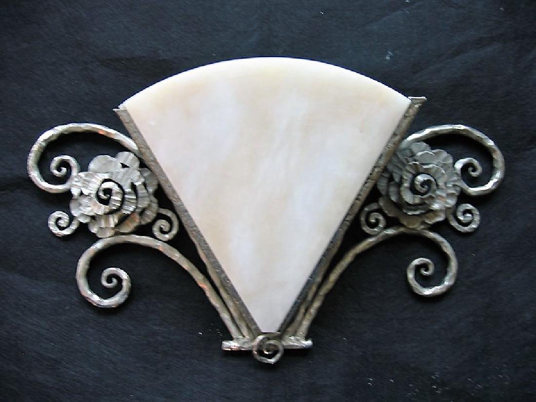 Art Deco Style Wall Sconces (Pair) - 3