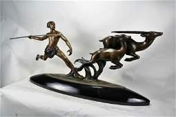Large Art Deco Figurine