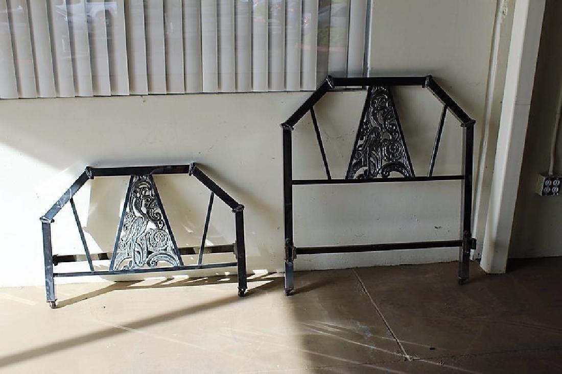 Original Art Deco Bed Frame