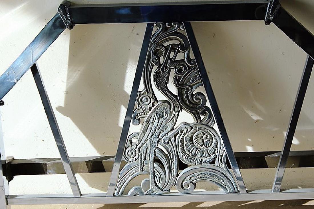 Original Art Deco Bed Frame - 2