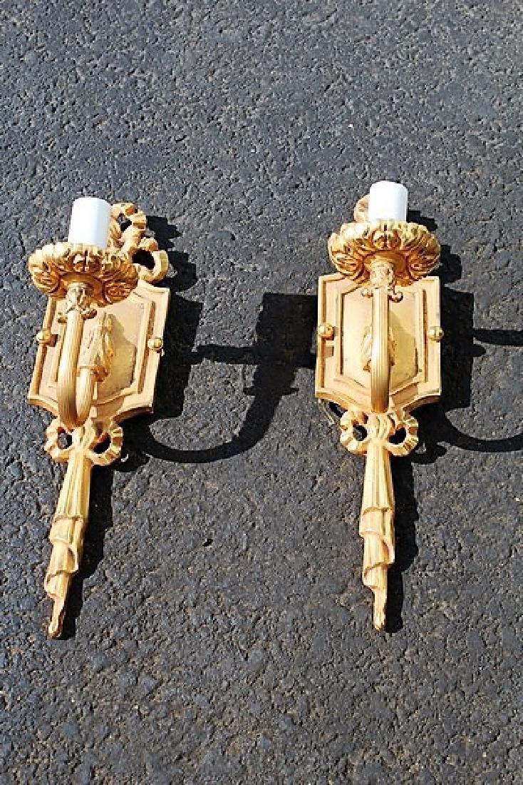 Empire Style Sconces (Pair)
