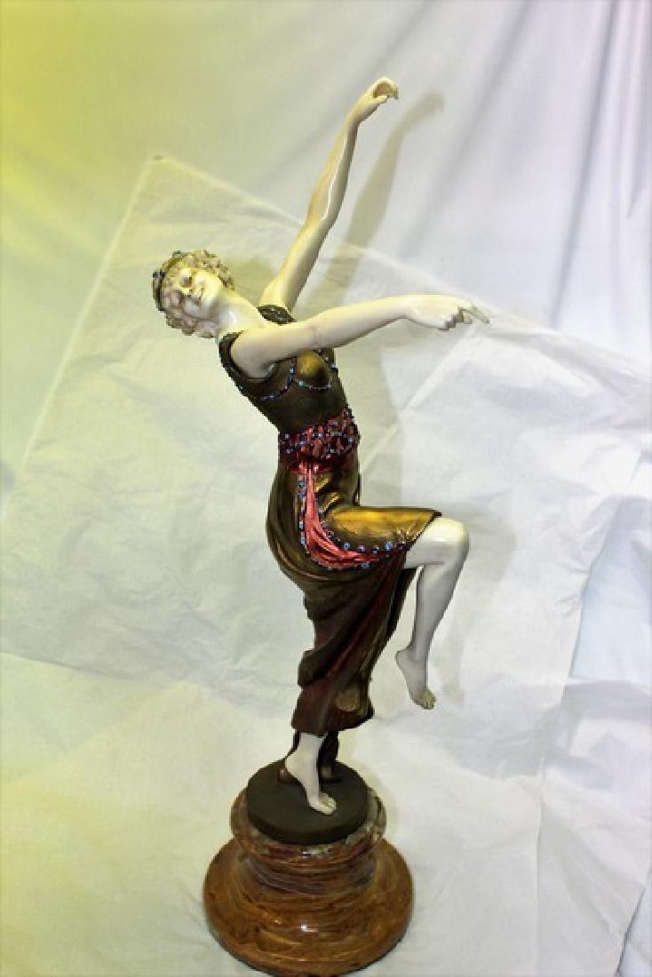 Art Deco Figurine Titled Mask Dancer