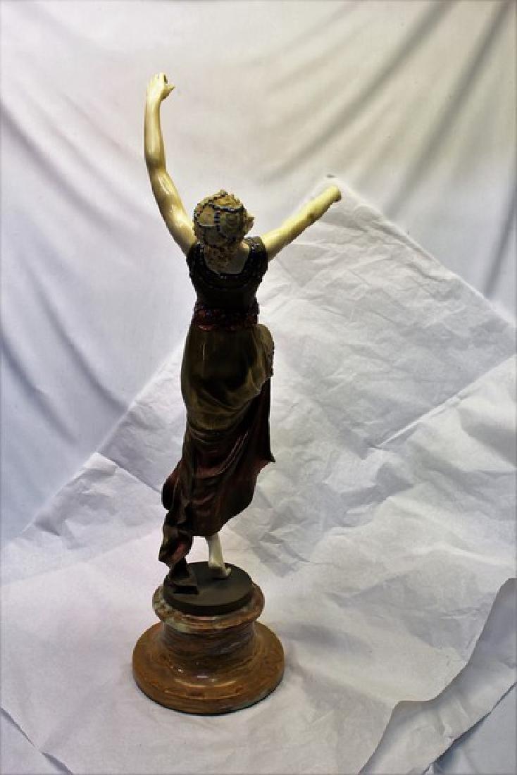 Art Deco Figurine Titled Mask Dancer - 5